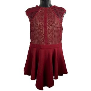 Entry red dress (juniors)